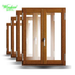 PVC Simple/Double Coulissante Trempé Fenêtre Pvc Couleur Bois Portes Et  Fenêtres En Vinyle à
