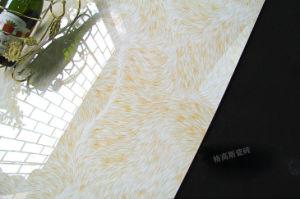3D Tegel van de Steen van de Tegel van het Porselein van de Tegel van de Vloer van het Ontwerp van de Schapen van de Glans inkt-Ject Marmeren