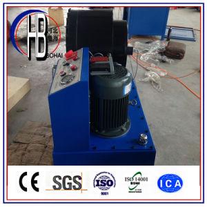 Ce&ISOの証明書手動フィン力のホース販売のためのひだが付く機械中国Dx68の油圧ホースひだが付く機械