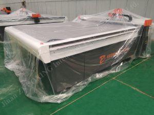 Sanduíche de papelão ondulado da linha de produção de embalagens fabricadas na China Disco CNC máquina de corte da placa de papel com marcação ISO