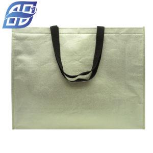 Sacchetto non tessuto personalizzato promozionale della tela di canapa del sacchetto tessuto pp