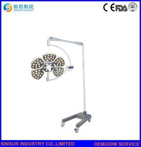 病院の花弁タイプ倍ヘッドによって取付けられる操作LEDの天井外科ライトかランプ
