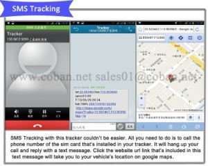 Plug & Play OBD II, Tracker GPS Tracker 306 de Sos, la función de diagnóstico de Monitor de nivel de combustible