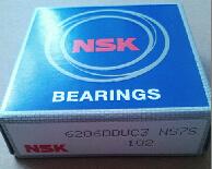 Bom preço NSK 6206 DDU C3 sulco profundo do Rolamento de Esferas