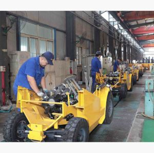 Forklift do motor Diesel S4s de Japão 2.5 toneladas