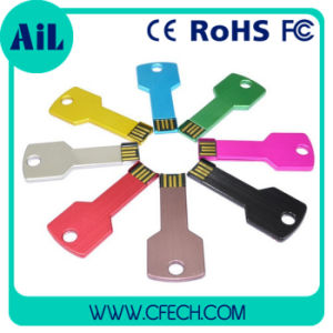 Promotion High Quality와 Cheapest를 위한 Metal 다채로운 Key USB Flash Drive 중국제