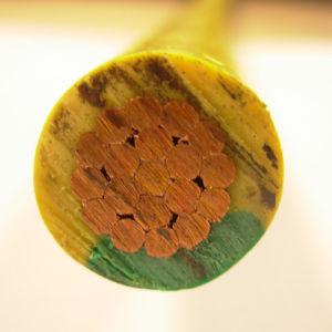 Cabo com isolamento de PVC de fios elétricos