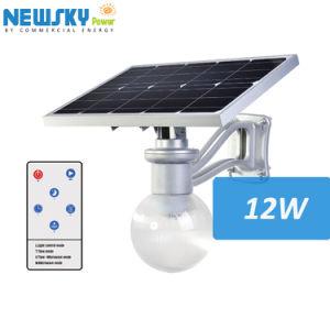 Lampada solare del giardino di RoHS 8W 12W LED del Ce