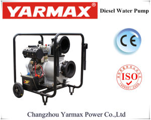 Comunidad portátiles utilizan diesel bomba de agua con ruedas