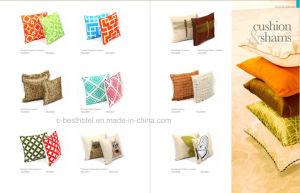 Белая утка вниз пуховые подушки/здоровья подушка/укрепить опорный/Siliconized полиэфирные волокна