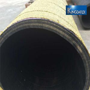 1,5 pulgadas de alambre de acero flexible, manguera de succión de goma reforzada