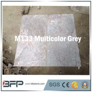 De veelkleurige Grijze Marmeren Tegel van de Vloer van de Steen voor het Vloeren & het Bedekken