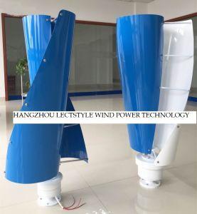 100W 12V 24V de Micro- Verticale Generator van de Wind voor het Laden van Batterij