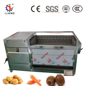 Máquina de limpeza da escova de cenoura da indústria