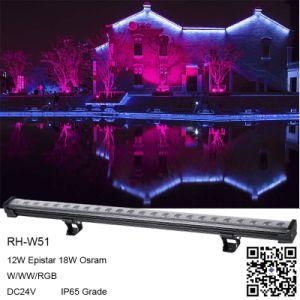 De forma remota mágico cambian de color IP67 10W LED de exterior