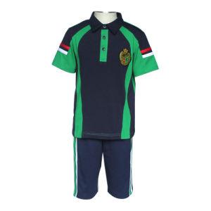 87434334da O desporto de manga curta de Verão Camisa camisa Polo de ténis de desgaste  uniforme da escola