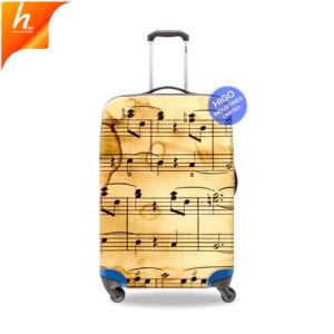 Художественные чемодан для женщин печать музыки на случай охватывает
