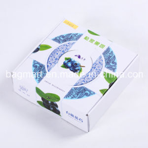 Caja de papel de impresión Colores personalizados para la fruta