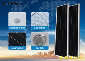 Tudo em uma rua Solar de LED de luz com Sensor de movimento