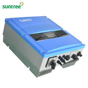 5000W 10kw a 15 kw a 20kw 30kw función WiFi con el inversor solar MPPT para amarre en la red eléctrica del Sistema Solar de 3000 vatios, Inversor de potencia