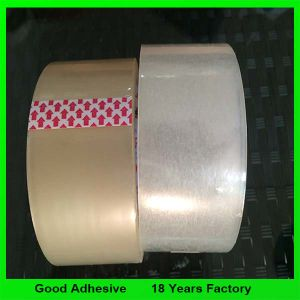 熱いSelling 48mm*66mブラウンBOPP Packing Carton Sealing Clear Tape