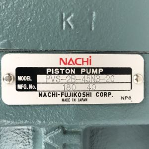 最上質NACHI油圧ポンプPvs-2b-45n3-20