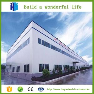 Estructura de acero preparada Taller de creación de dos pisos prefabricados