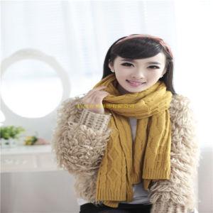 2016 Nueva dama moda invierno lana acrílica\Moda Bufanda de punto Factory