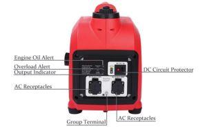 2000W Gerador Gasolina Design Portátil para uso doméstico 2.0Kw de Emergência do inversor