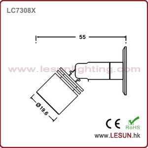 ショーケース(LC7307)のためのLEDの小型スポットライト