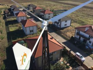 Wind-Turbine-Generator-Preis der Mittellinien-5000whorizontal, China-Generator Eolic horizontal