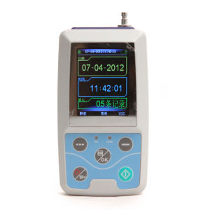 Affissione a cristalli liquidi Ambulatory Blood Pressure Monitor NIBP Holter di Big di colore con Free Software-Stella