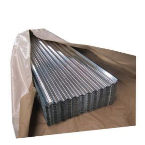 Galvanisé à chaud en acier ondulé Feuille de tuile de toit