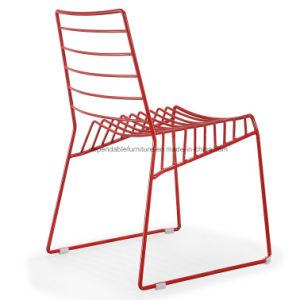 Дешевые страны Северной Европы провод металлической раме наращиваемые ресторанов стулья