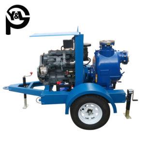 6-дюймовый дизельного двигателя центробежные Self-Priming канализационных вод насос