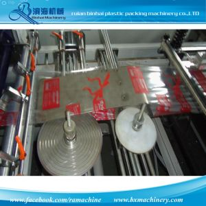 Sellado de medio lado cuatro sellado el sellado del lado de la bolsa de soporte que hace la máquina