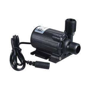 Fluxo de 24V DC 1000L/H submersíveis bomba anfíbia de isolamento hidrelétrica para economia de energia