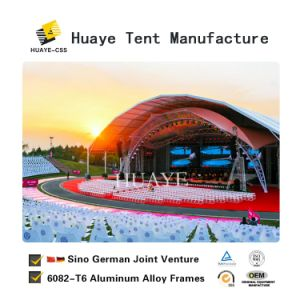Grosses Polygon-Aluminiumzelt-Festzelt für heiße Verkäufe (SEITE 30M)