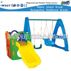 De openlucht Apparatuur van de Speelplaats van de Jonge geitjes van het Speelgoed met Dia's (HF-20409)