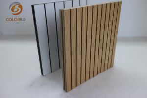 Dekoratives Material-Grooved Bauholz-akustisches Panel