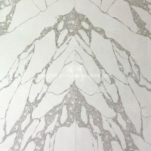 Calacattaの水晶石か水晶平板に一致させる20mm/30mmの厚さの本