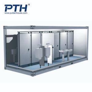 China-Lieferanten-vorfabriziertes Behälter-Haus als allgemeine Toilette