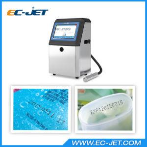 Nuevo diseño Cij Fecha de caducidad de la impresora para imprimir en paquetes de productos (CE2000).