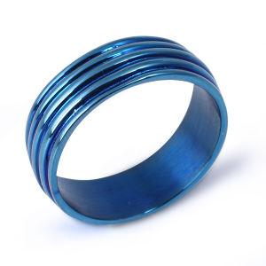 Één Gift van de Ring van de Diamant van de Steen 18K Goud Geplateerde voor Vriend