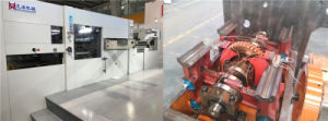 自動Exelcutシリーズは除去を用いるダイカッタ機械を(105/116SS)