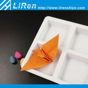 Una muestra gratis blanco precio de fábrica la congelación de la bandeja de cubitos de hielo con seis celdas