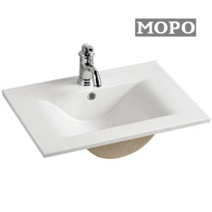 浴室の陶磁器の洗浄手のキャビネットの洗面器