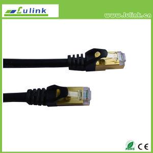 Calidad Cat5e UTP Cable de conexión de cable de conexi n plana