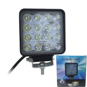 16車のためのLEDsの自動車48W LED作業ライト4インチ12V 24V
