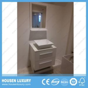 Fußboden-Badezimmer-Eitelkeit HS-T11011-600 des heißen Verkaufs-2018 im amerikanischen Stil